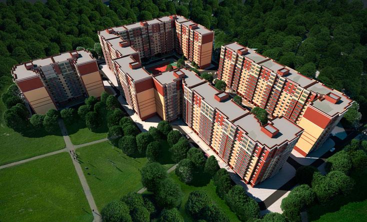 Квартира 50м2 в новом доме ЖК «Счастливый»