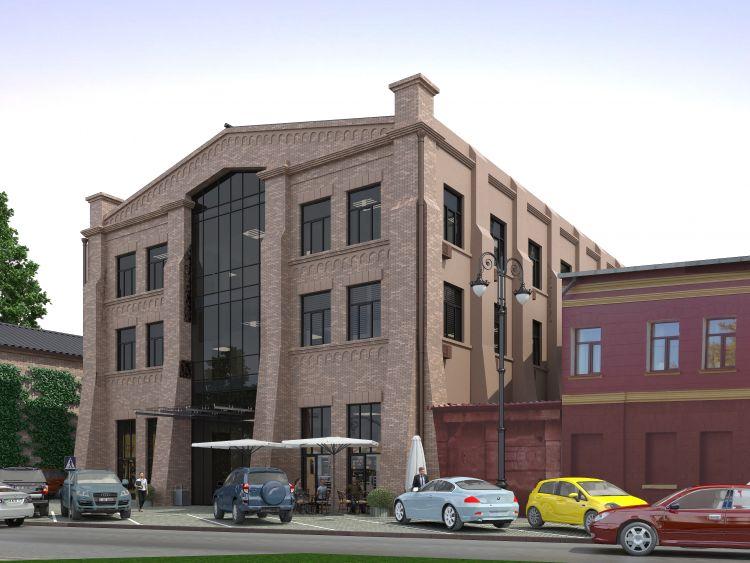 Продам офисные помещения в БЦ Franklin Центр